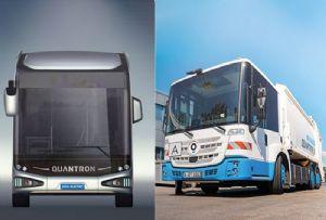 image: UK, Northern Ireland, Wrightbus, Quantron, Hydrogen, bus, electric, trucks, Q-Light FCEV, Iveco, Daily,