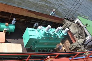 image: UK heavy lift project freight forwarding break bulk cargoes logistics shipping