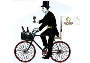 image: UK freight logistics European cycle ride charity Transaid Champagne Guinness Ireland