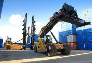 image: UK Pentalver container handling box freight