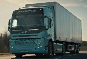 image: Sweden, Volvo, electric. Trucks, transport, haulage, hydrogen, climate change initiative,