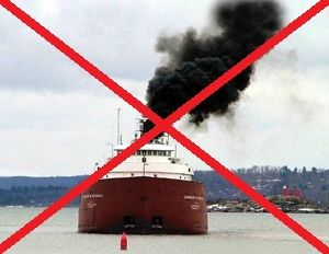 image: freight logistics pollution