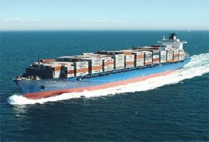 image: Greece Diana container shipping bulk freight carrier vessel TEU dwt time charter