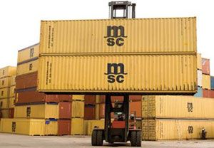 image: Switzerland France box tracking container shipping companies MCS CMA CGM freight fleet TRAXENS