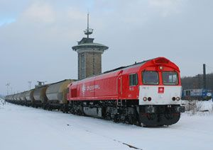 image: Rhenus Crossrail AG rail freight logistics link Switzerland Germany