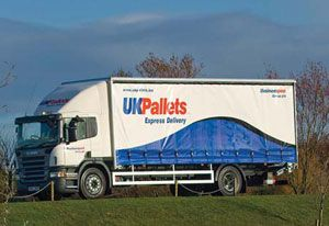 image: UK mail freight road services pallet operators Pall-Ex