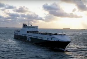 image: Denmark, DFDS, RoRo, Freight, Ferry, shipping, greenhouse gas, GHG, CO2, emissions, ships, plan,