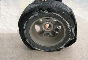image: US Canada tire tyres safety truckers freight delivery