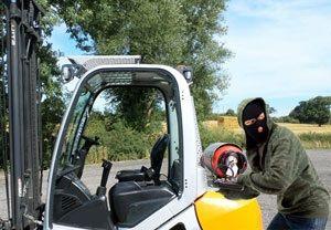 image: UK FLTA fork lift truck stolen materials handling freight road hauliers