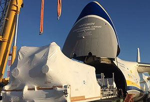 image: Canada Turkmenistan China AN-124-100 freighter air cargo Antonov project freight heavy lift