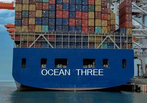 image: US container shipping alliance P3 2M Ocean Three FMC vessel sharing freight