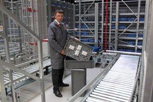 image: Porsche Germany BITO logistics supply chain