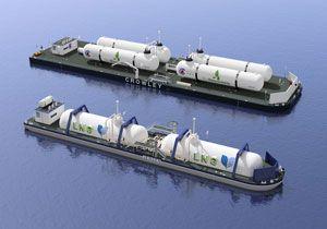 image: US bunkering LNG Jensen Crowley maritime merchant fleet barge design