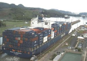 image: Asia container shipping CMA CGM box carrier TEU