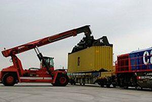 image: Europe rail freight cargo intermodal