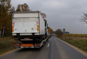 image: UK road haulage freight sector speed limits trucks lorries tonnes Brake charity safety