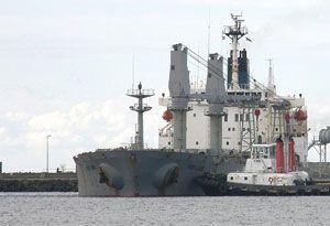 image: Australia Portland union seafarers Alcoa ITF Nautilus aluminium carrier bulk freight