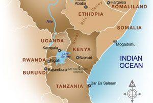 image: Rwandan container freight logistics TEU tonnes Kigali DP World terminal