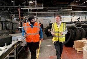 image: UK, retread, tyres, road, haulage, HGVs, tyres, Vaculug,