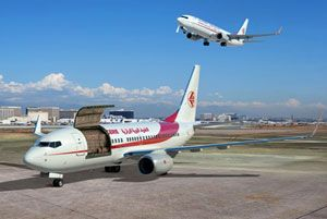image: 737-700C convertible airplanes freight passenger cargo Boeing Air Algerie