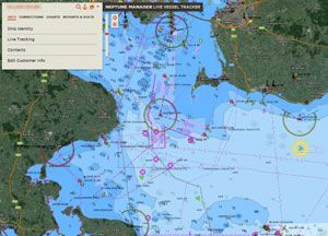 image: TECDIS ECDIS merchant shipping freight vessels electronic navigational chart