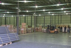image: Kuwait logistics freight supply chain