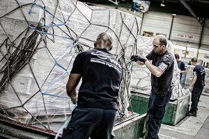 image: Pakistan UK freight cargo handling trucking