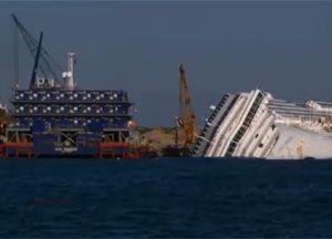 image: Costa Concordia Titan Salvage Crowley maritime marine Svitzer wreck removal towage