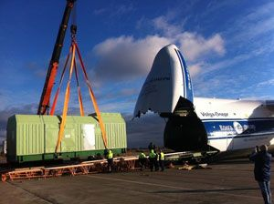 image: Mali Luxembourg air freight forwarding heavy lift carrier airwaybill special cargo carrier Switzerland US Russia