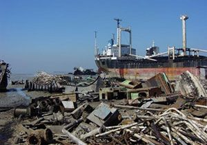 image: Turkey ship breaking dismantling merchant shipping