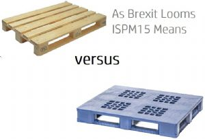 image: EU, UK, Phytosanitary, regulations, ISPM15, Goplasticpalets.com. TIMCON, DEFRA, wooden, pallets, recyclable,