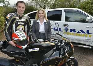 image: UK freight forwarder global motorcycle racing Rutter