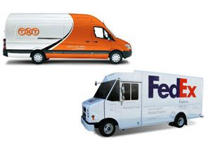 image: New Zealand express package delivery TNT FedEx Heart to Heart Red Cross Crescent charity
