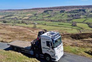 image: UK, CILT, logistics, electrification, rural, urban, van, emissions, net zero,