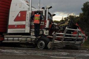 image: freight crash