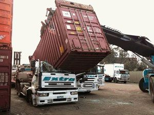 image: TT Club container shipping and handling port freight terminal cargo safety fork lift injuries fatalities