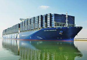 image: Morocco Russia freight container shipping line CMA CGM port calls