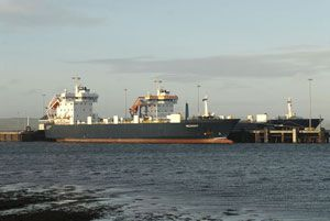 image: UK Orkney Shetland RoRo freight ferry vessel ship