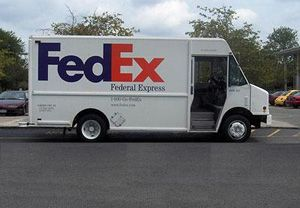 image: US FedEx express freight cargo less than truckload LTL