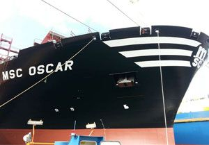 image: Russia Sweden Gothenburg marine lubricant LUKOIL MSC Mediterranean Shipping TEU Gas Oil Siberia