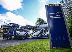 image: Gefco UK Jaguar Land Rover port road haulage logistics