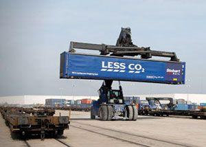 image: UK rail freight strategic interchange Helioslough Segro