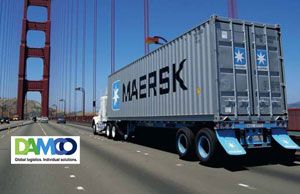 image: Denmark logistics supply chain freight containers airfreight TEU