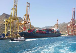 image: Spain cargo freight alliance container line logistics CMA CGM France Germany europallet