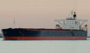 image: Baltic Dry Index freight shipping line Handysize bulk carrier vessel charter