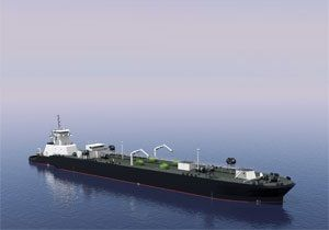 image: US Jensen Maritime articulated tug barge LNG bulk freight container ships shipping
