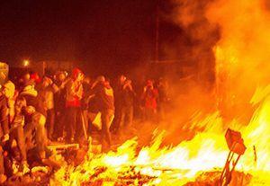 image: freight logistics riot