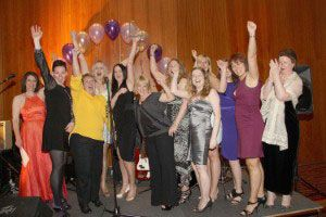 image: UK Women in Logistics freight supply chain awards charity ball transaid
