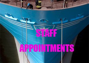 image: US UK container shipping bulk freight Maersk Hanjin K + N appointments staff