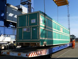 image: Mafi UK Mexico Tuscor Lloyd�s project freight forwarding RoRo logistics
